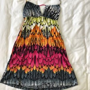 Lucy Love Colorful Halter Dress